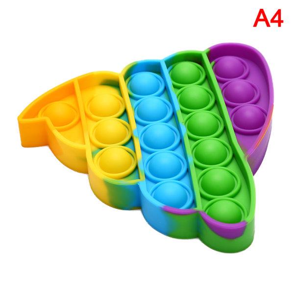 Rolig Stress Reliever Toy Anti-stress Toy för vuxna barn Push Bu
