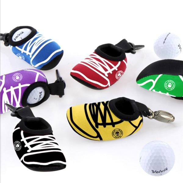 Golf Ball Bag Holder Mini Waist Pack Pouch Sport Portable Stora Black