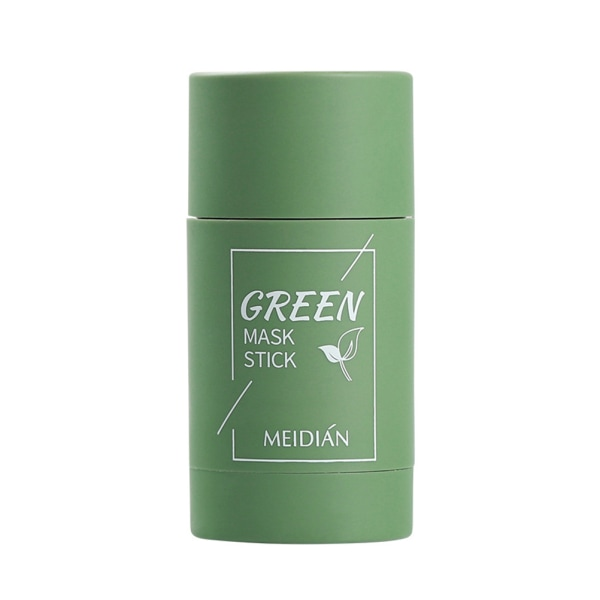 Green Tea Stick Natural Mask Eggplant Cleans Pores Mask Green Tea
