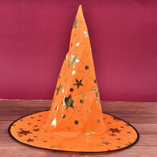 Halloween Witch Hat Party Ribbon Wizard Hat Party Cosplay Costu