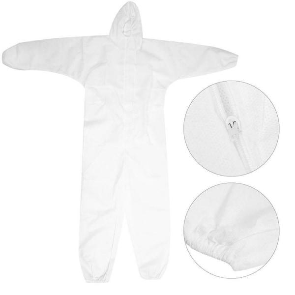Hazmat Suit Antivirusskydd Kläder Säkerhetsdräkt Disp