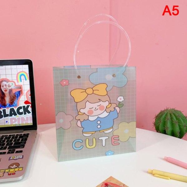 Koreansk tjejväska bärbar shoppingväska förpackningsväska present B