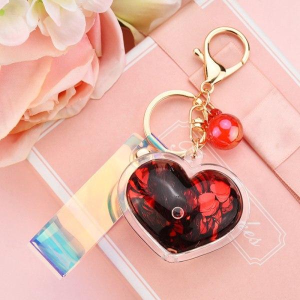 kärlek nyckelring bil nyckelring för kvinnor väska charm tillbehör kärlek