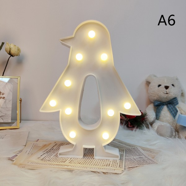 Lovely Cloud Star LED 3D Night Light Kids Gift Toy Children Bed A6