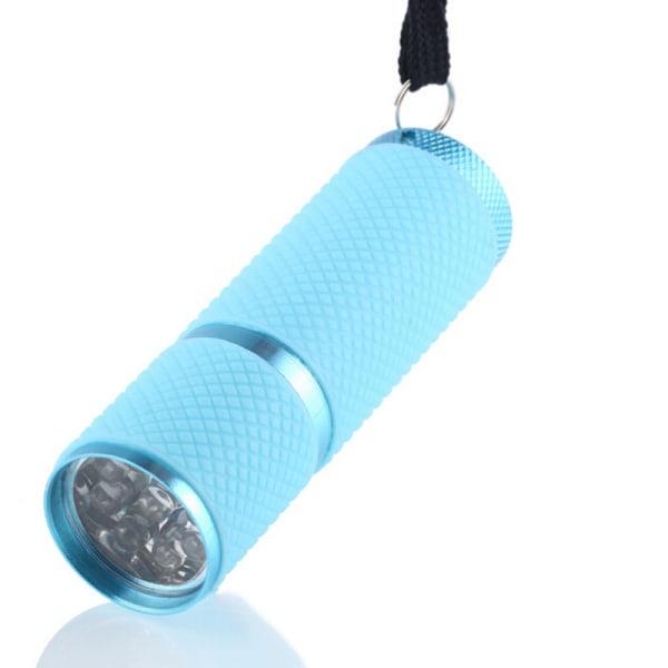 Mini LED Nail Dryer Curing Lamp Ficklampa för UV Gel Nail Poli
