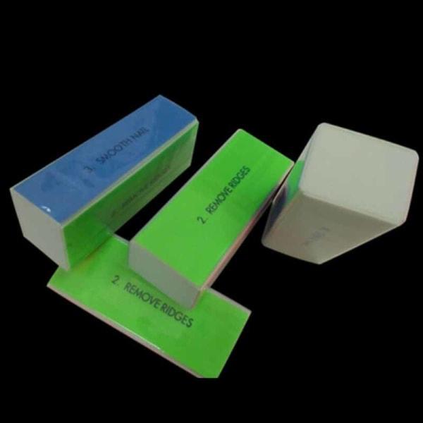 nail polishing block  manicure tool sanding sponge nail file bu