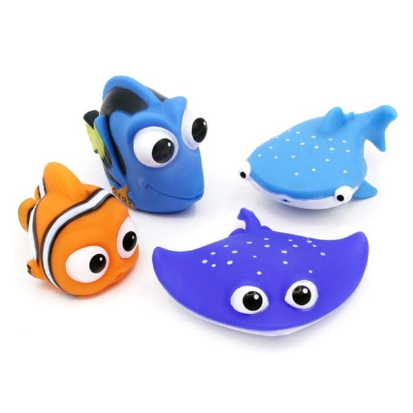 nemo dory float spray vatten klämma leksaker baby bad leksaker badrum