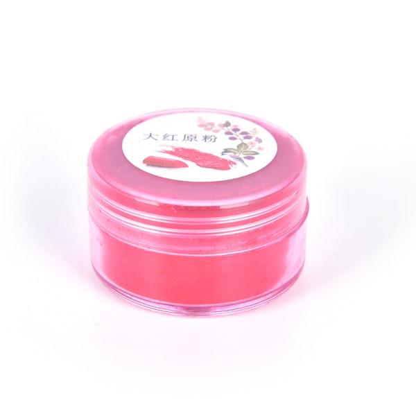Nytt 16Color 1g Lip Gloss Mica råmaterial Pigment For Lips Glo