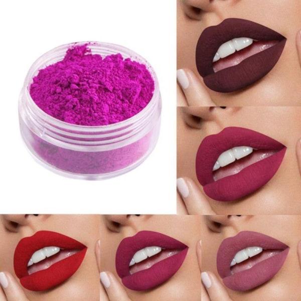 Nytt 18Color Lip Gloss Mica råmaterial Pigment för läppglans