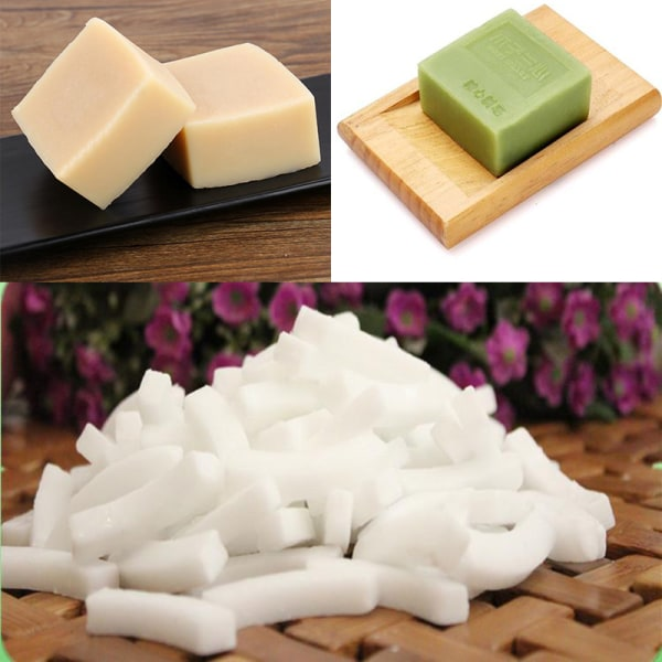 New 250g Transparent Soap&white Base DIY Handmade Raw Materials White