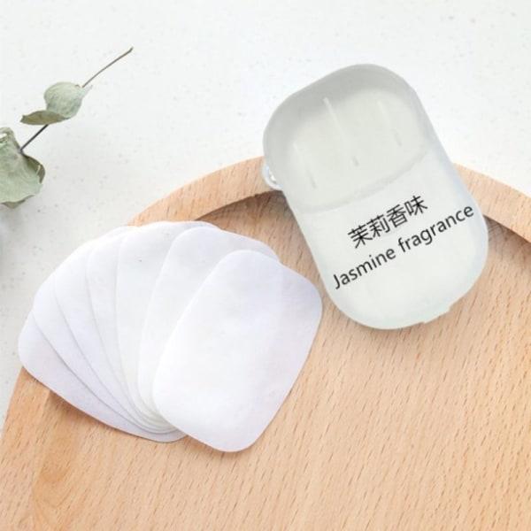 pappersrengöring tvålar bärbar handtvätt doftande skiva bad doft