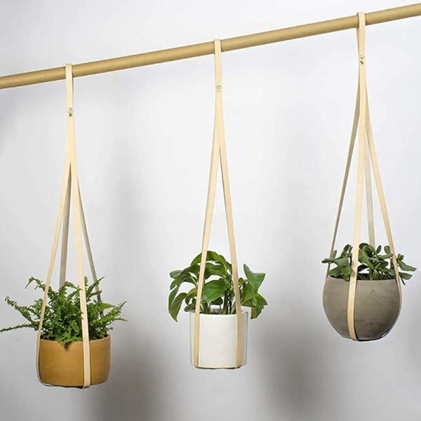 Plant Hanger Hanging Planter Flower Pot Holder Heminredning för In