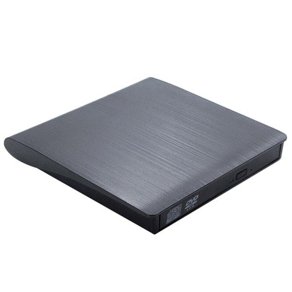Bärbar USB 3.0 DVD-ROM optisk enhet Extern Slim CD Disk Rea