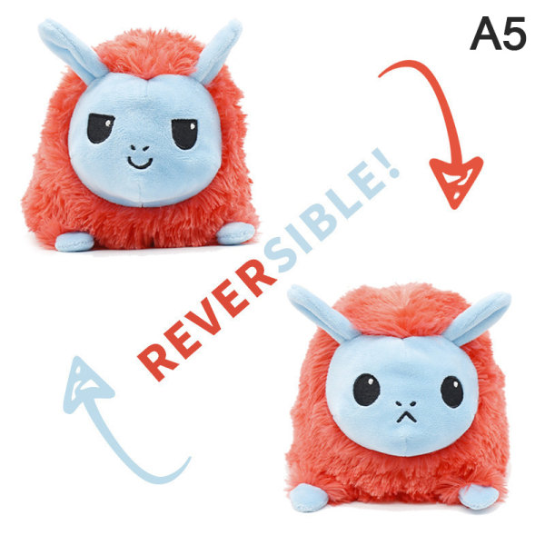 Reversible Cat Gato Kids Plushie Plush Animals unicorn Double-S 5