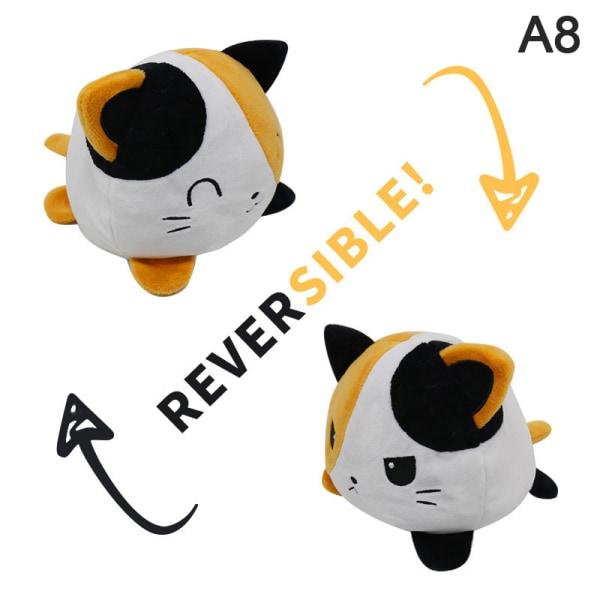Reversible Cat Gato Kids Plushie Plush Animals unicorn Double-S 8