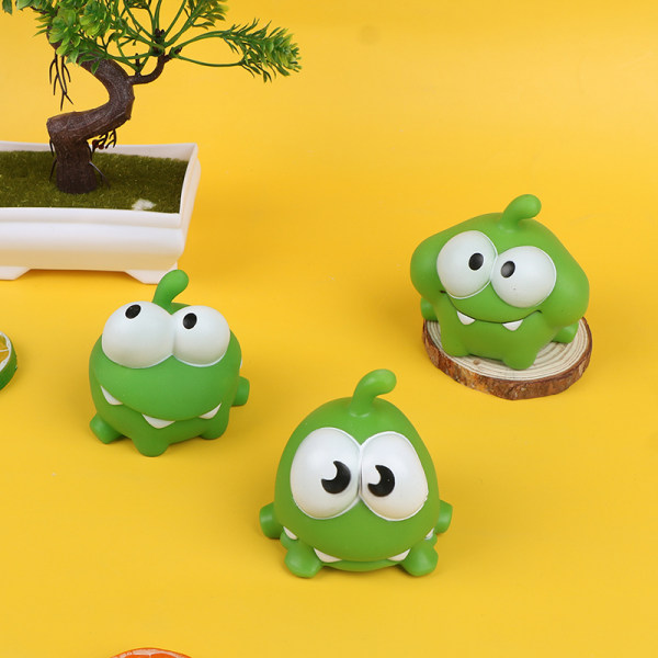 Rope Frog Vinyl Gummi Android-spel Doll Cut The Rope Candy Gu