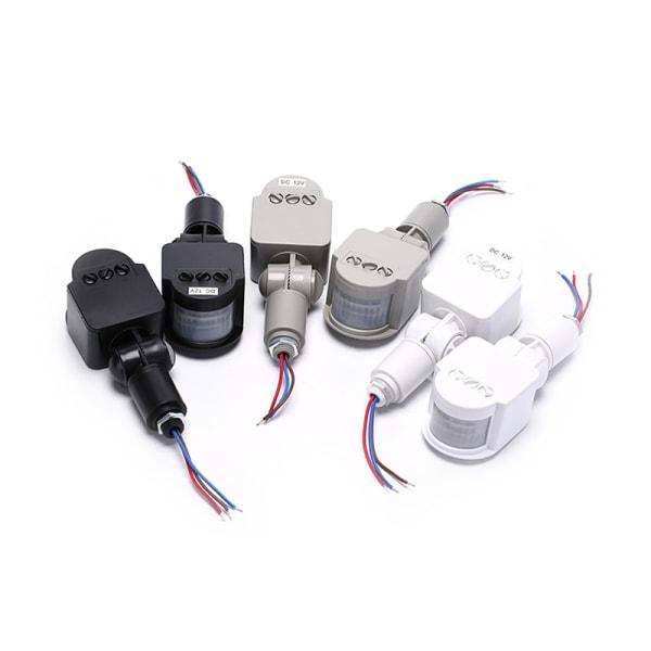 Säkerhet PIR Infraröd rörelsesensordetektor Vägg LED-lampa ut