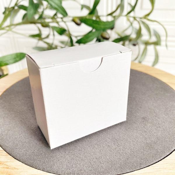 Shell Shape Velvet Ring Box Wedding Engagement Örhängen Necklac