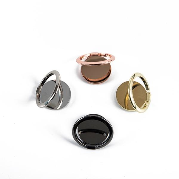 spinntelefonhållare 360 graders roterbar magnetmetallring smartph