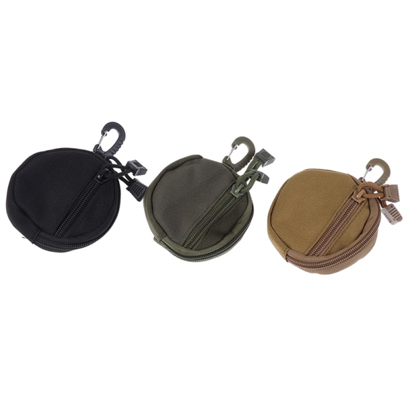 Tactical Wallet Bag Pocket Waterproof Money Pouch Pack Coin Poc Army green