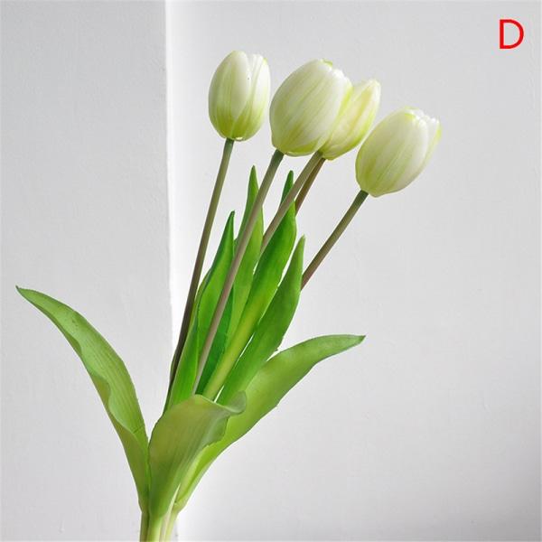 Tulpaner bukett dekorativa konstgjorda blommor vardagsrum decora