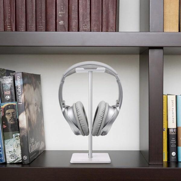 Universal Aluminum Headphone Holder Earphone Headset Hanger Des White