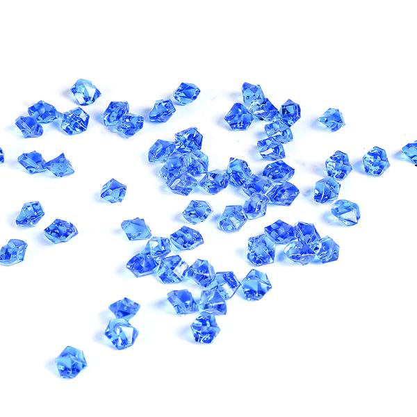Vasfyllare 500g falska ädelstenar Glassten Akryl Ice Rock