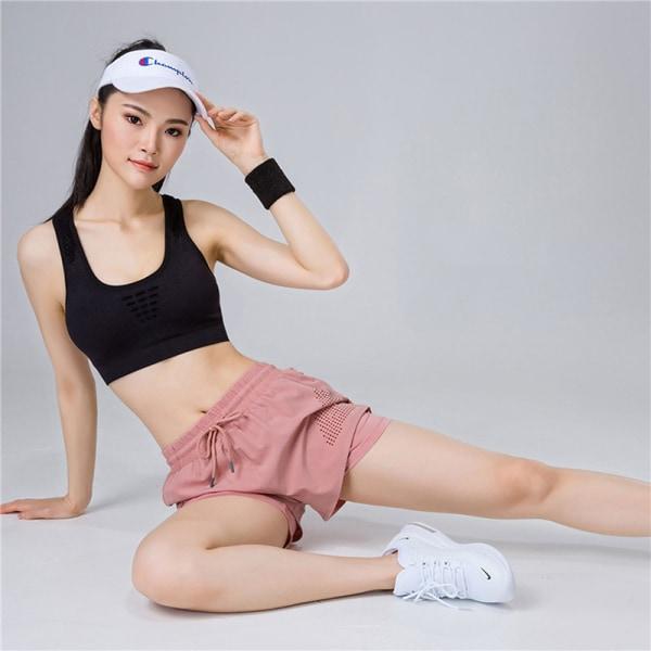 Women''s fast dry Yoga Running Training Shorts black XL