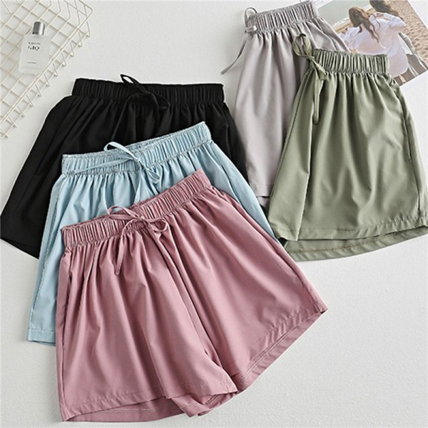 Kvinnors sommarsportträning lösa casual shorts