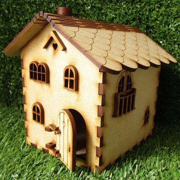 trä älva dörr hantverk trädgård dekor docka tre-dimension