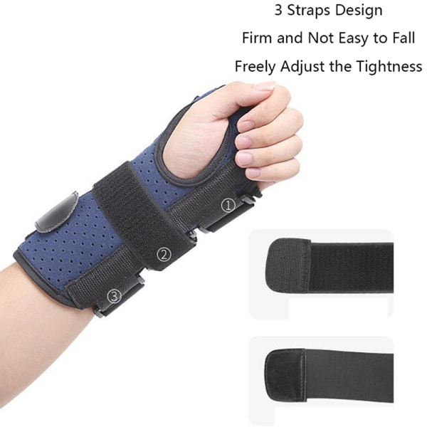 Wrist Hand Brace Support Carpal Tunnel Splint Arthritis Sprain  Left