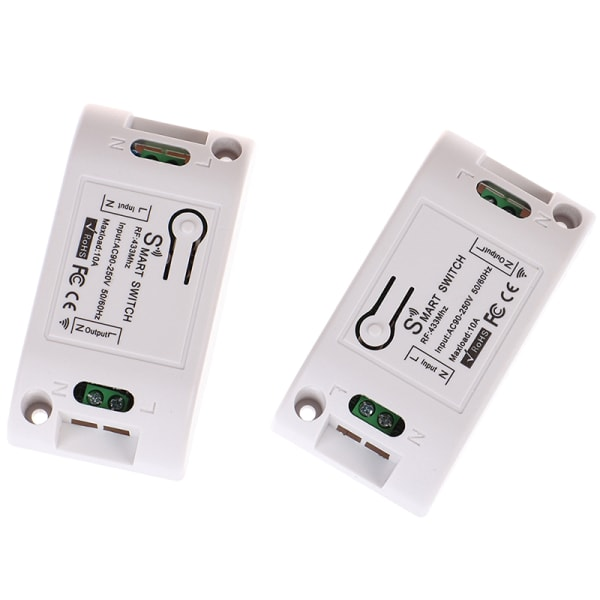 433 Mhz RF Smart Switch Wireless RF Receiver Timer Relay Phone