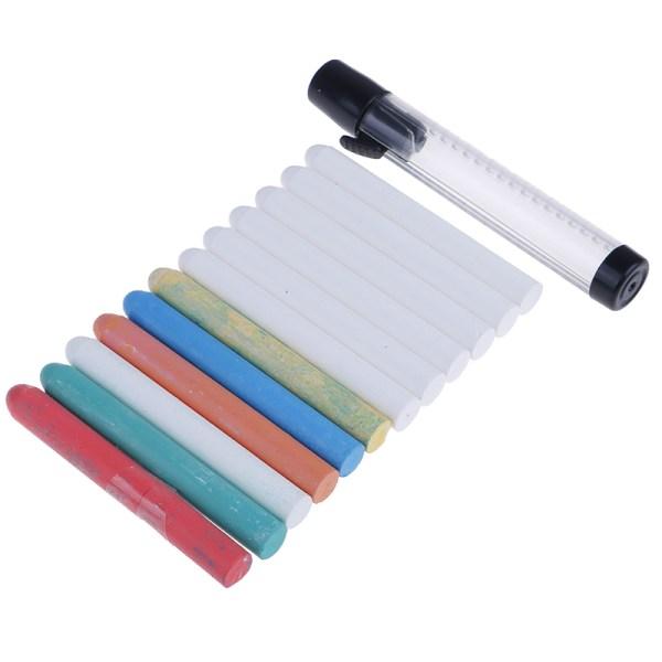6st / parti Färg Vit Dammfri krita pennor för Blackboard Kitchen