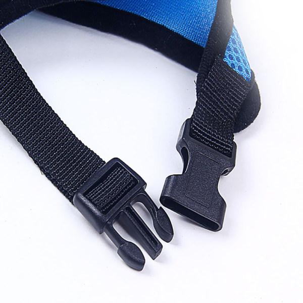 Dog Pet Adjustable Harness and Leash Set pet harness straps For  S black