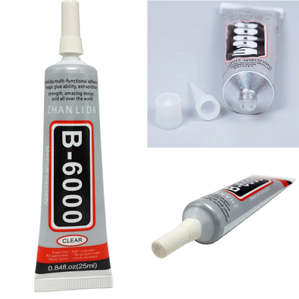 E6000 Waterproof Industrial Strength Glue Adhesive Jewelry Nails clear 110ml
