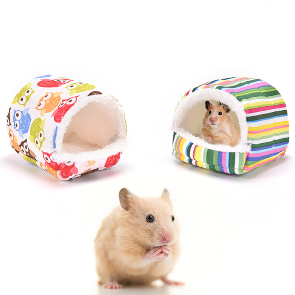 hamster hedgehog soft pad bed pet rat guinea pig house nest smal B 8cm
