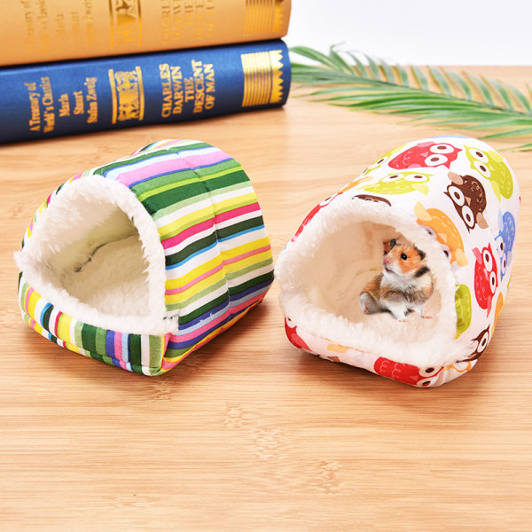 hamster hedgehog soft pad bed pet rat guinea pig house nest smal A 8cm