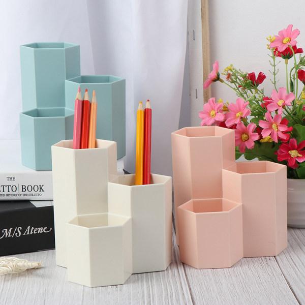 Hemmakontor Pen Penhållare Förvaring Kosmetisk Makeup Box Desk