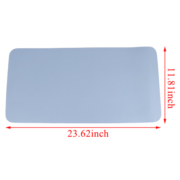Large Multi-color Optional Gaming Mouse Pad Rubber Anti-slip Des Dark blue