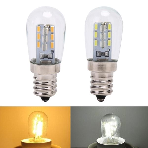 LED Light Bulb E12 Glass Shade Lamp Lighting For Sewing Machine white
