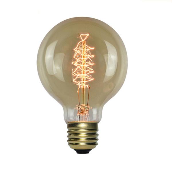 Retro Edison Bulb E27 220V 40W Soft Spiral LED Filament Bulb G8