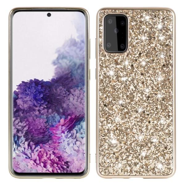 Samsung S20 Skal Glitter  Guld Guld