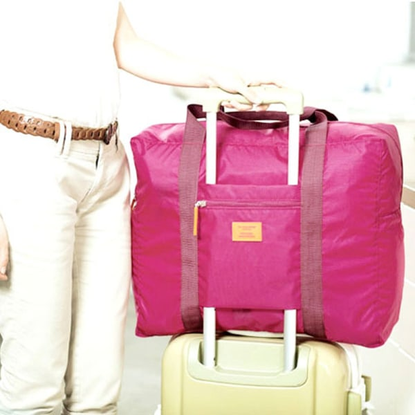 Väska med fäste för kabinväska Rosa