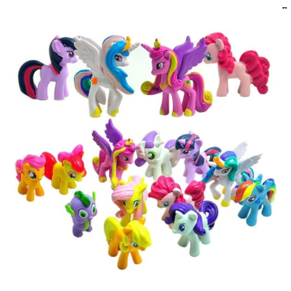 12 Pack My Little Pony Figurer