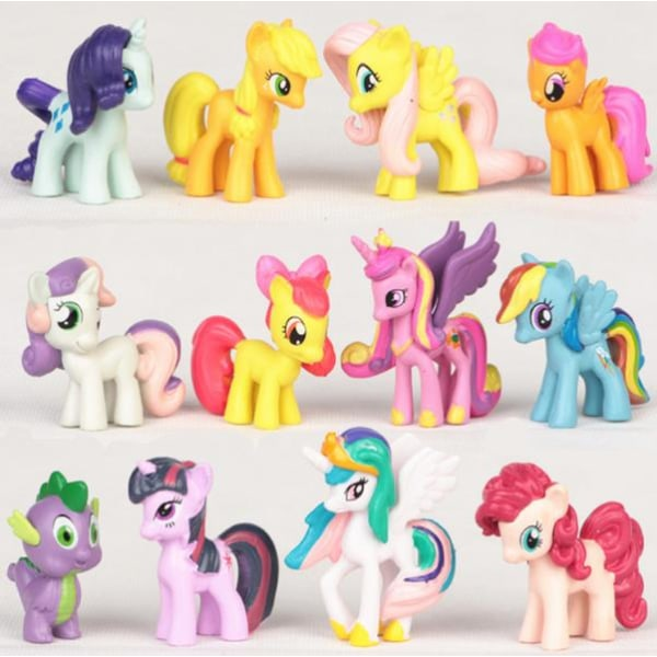 12 Pack My Little Pony Figurer