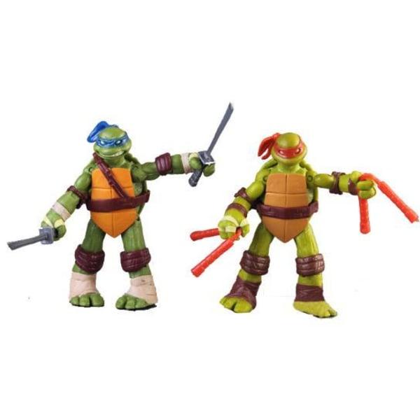 12cm Teenage Mutant Ninja Turtles Figurer- 4 Pack