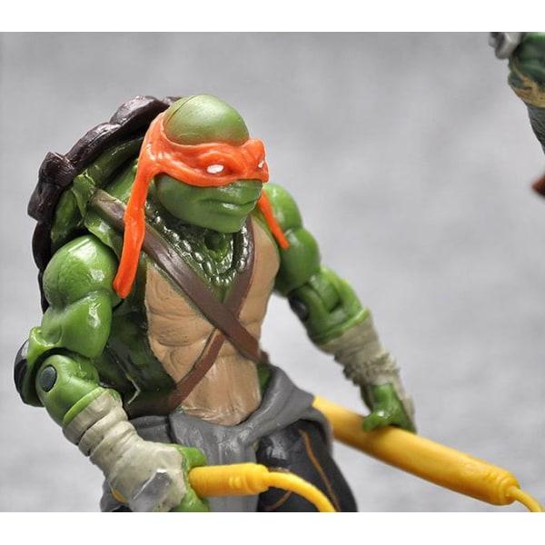 4 Pack Teenage Mutant Ninja Turtles- 12CM- Ny Modell