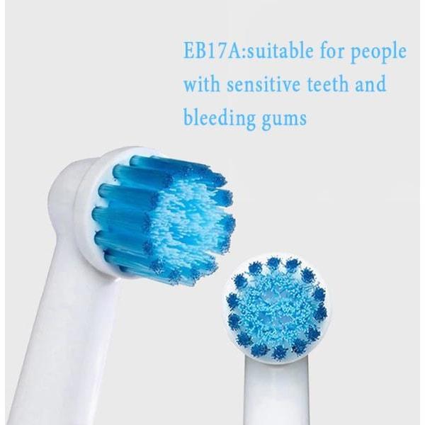 8-Pack Tandborsthuvuden Oral-B Kompatibla Modell 4