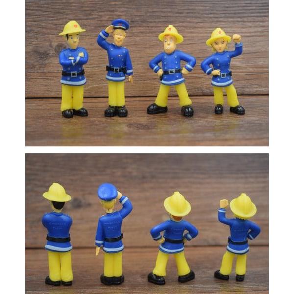 Brandman Sam figurer, 12st per förpackning