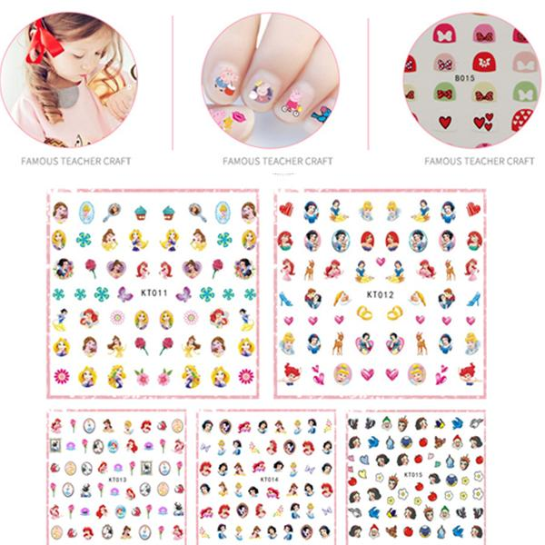 Disney Princess Nagel Stickers 170st Nagelklistermärken